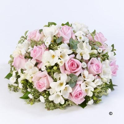 Scented Posy  Pink and White