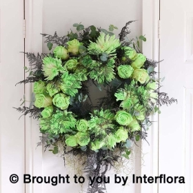 Ghostly Glow in the Dark Wreath